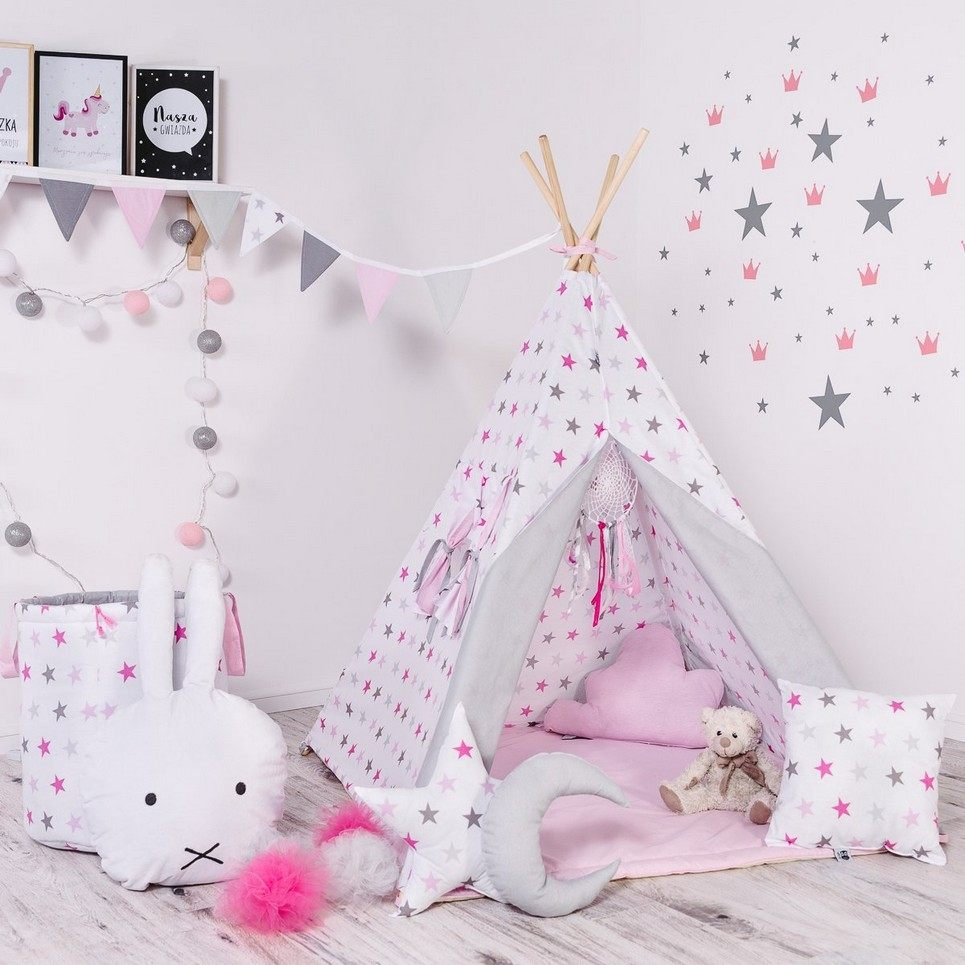 Child's Teepee Set Candy Constellations