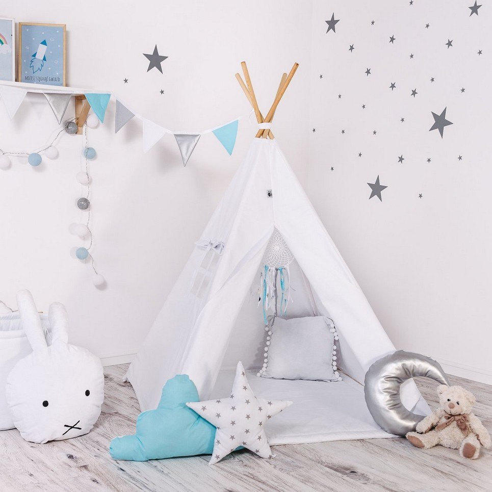 Child's Teepee Set Paint Me