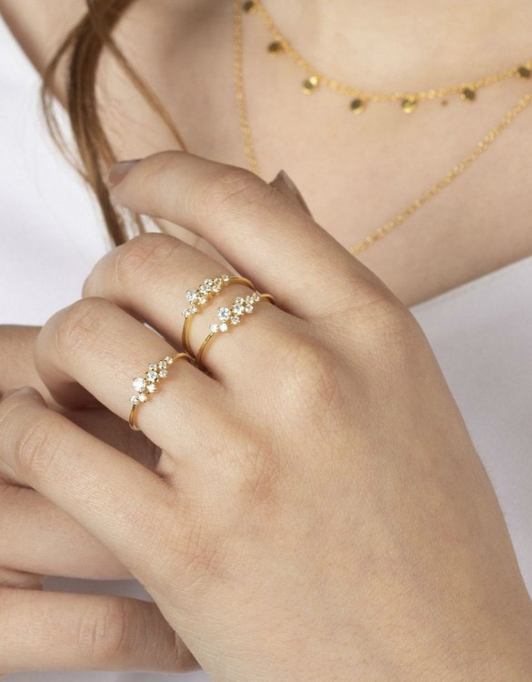 A truly luxurious gift for a friend, or a special treat for yourself, the Babe Gold Ring is a cool way to show a little love. It would be a perfect anniversary, Christmas or birthday gift.