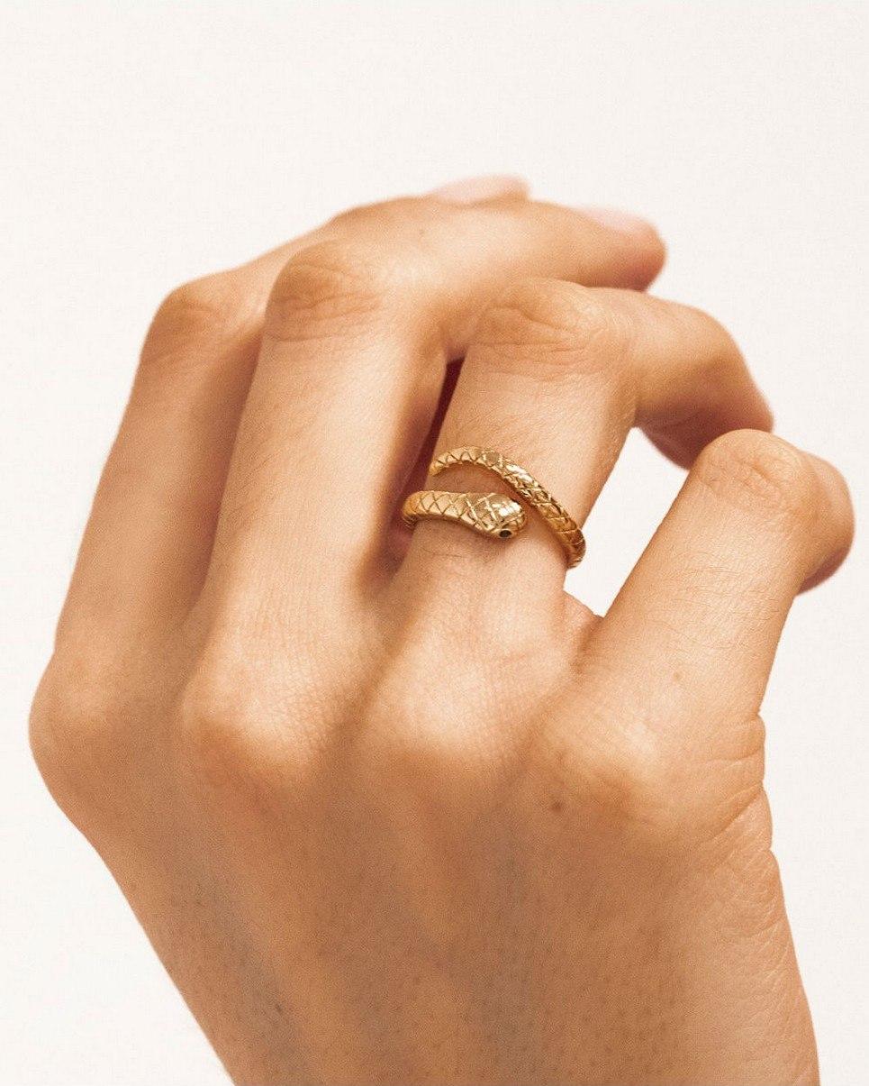 Boa Gold Ring
