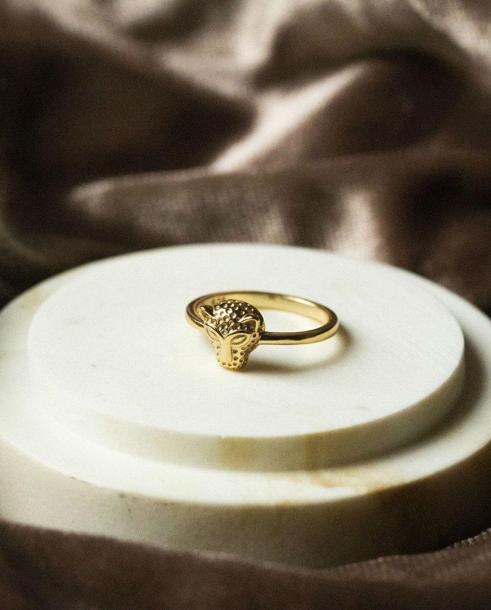 Jaguar Gold Ring
