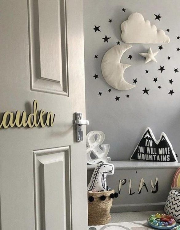 A stunningly original piece of personalised word art, the Wooden Name Sign is perfect for decorating a little's one space. Designed in a playful font, this nursery wall sign will make a great addition to any nursery, child's room or playroom.