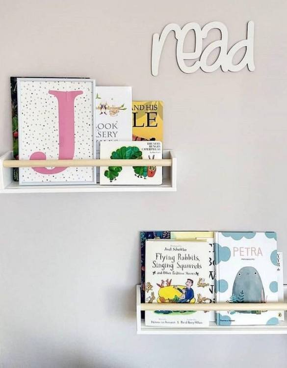 A stunningly original piece of personalised word art, the Wooden Read Sign is perfect for decorating a little's one space. Designed in a playful font, this nursery wall sign will make a great addition to any nursery, child's room or playroom.