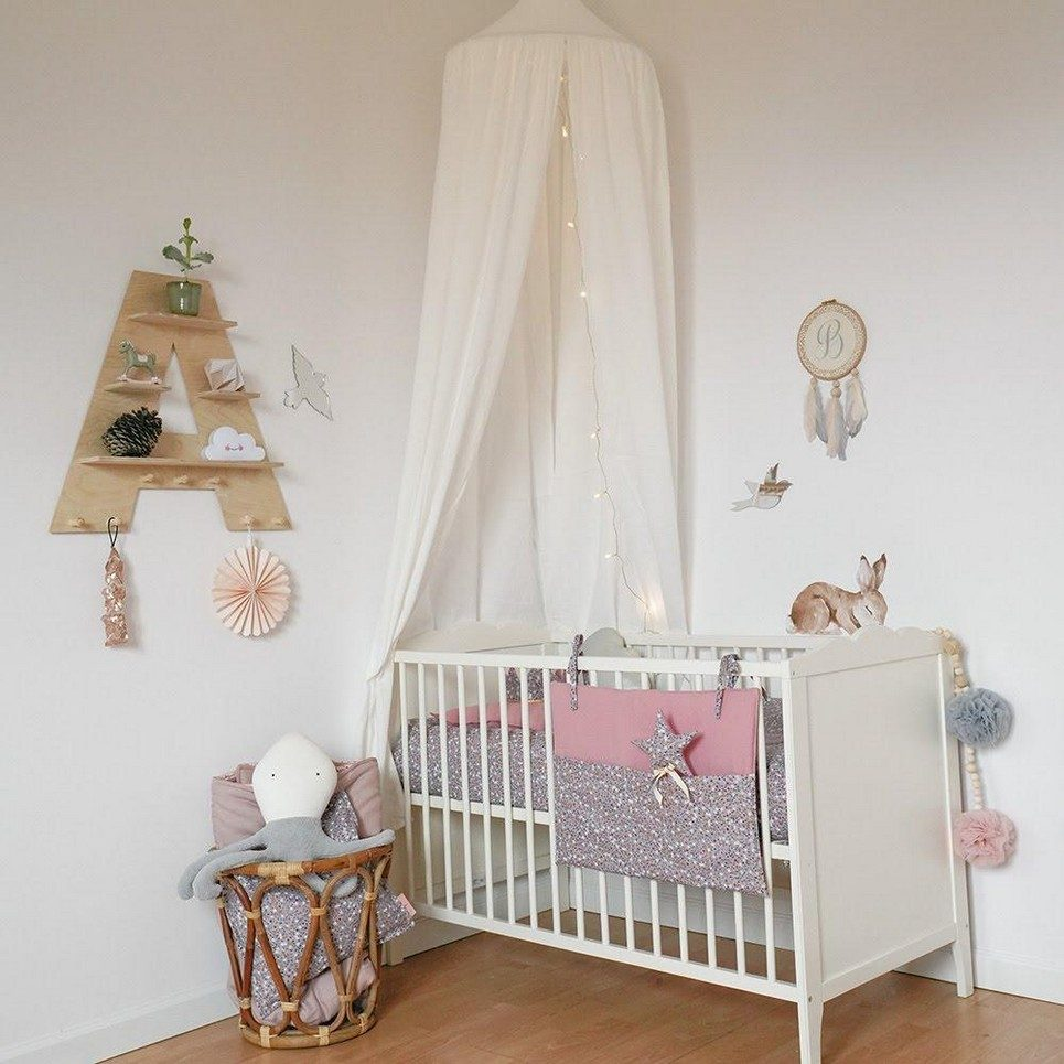 Cream Children's Bed Canopy