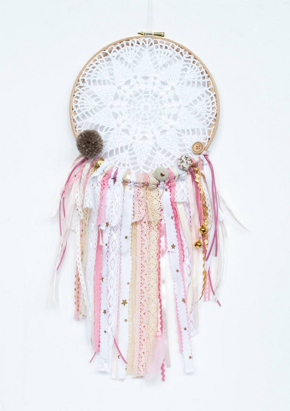 Golden Bells Handmade Dream Catcher
