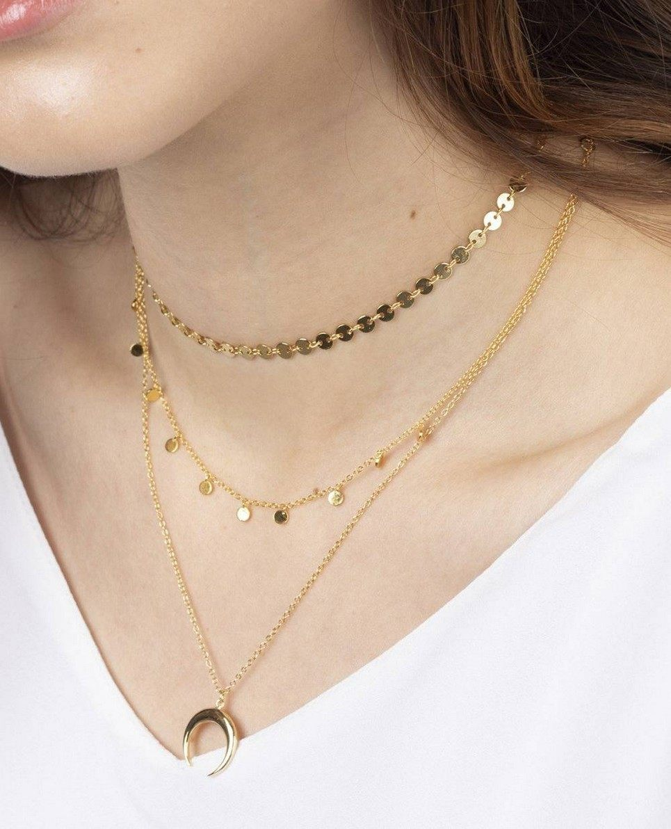 Krista Gold Necklace
