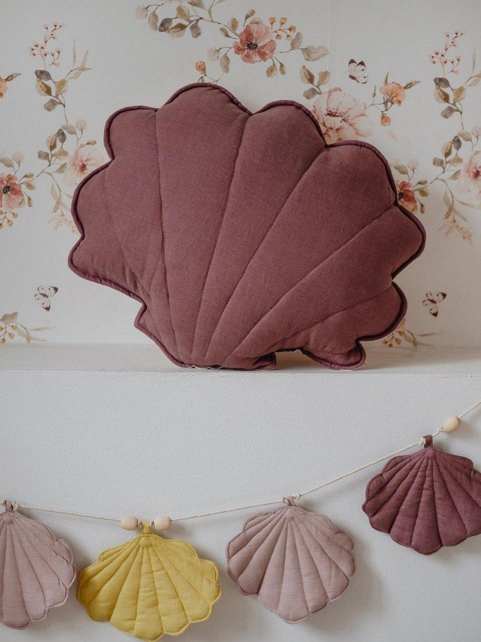 Marsala Linen Shell Cushion