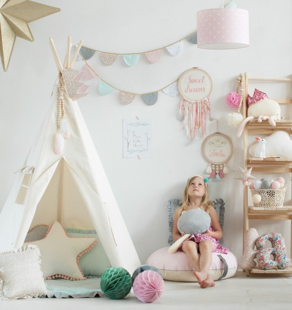 Natural Children's Play Teepee – 4