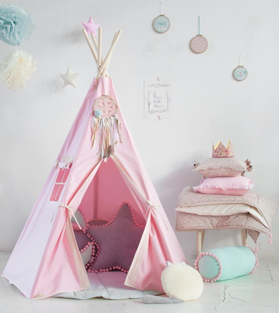 Pink Charm Children's Play Teepee