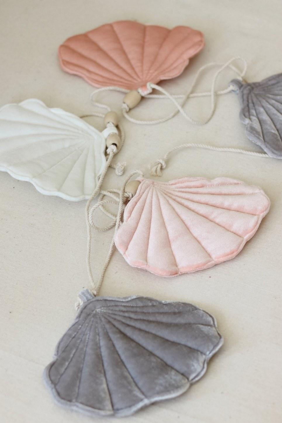 Pink Pearl Shell Nursery Garland