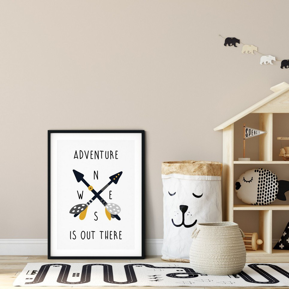 Adventure is Out There Nursery Print