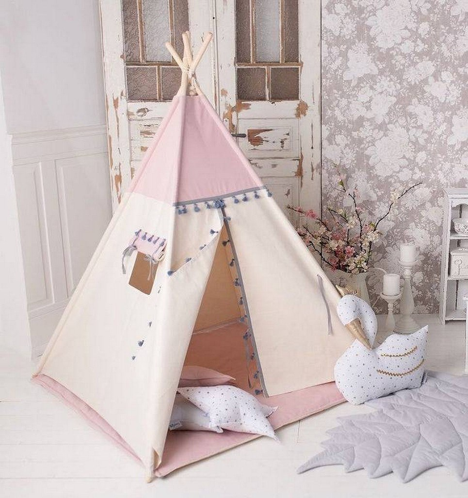 Boho Pink Children S Play Teepee Unique Kids Play Tents By A Matter Of Style
