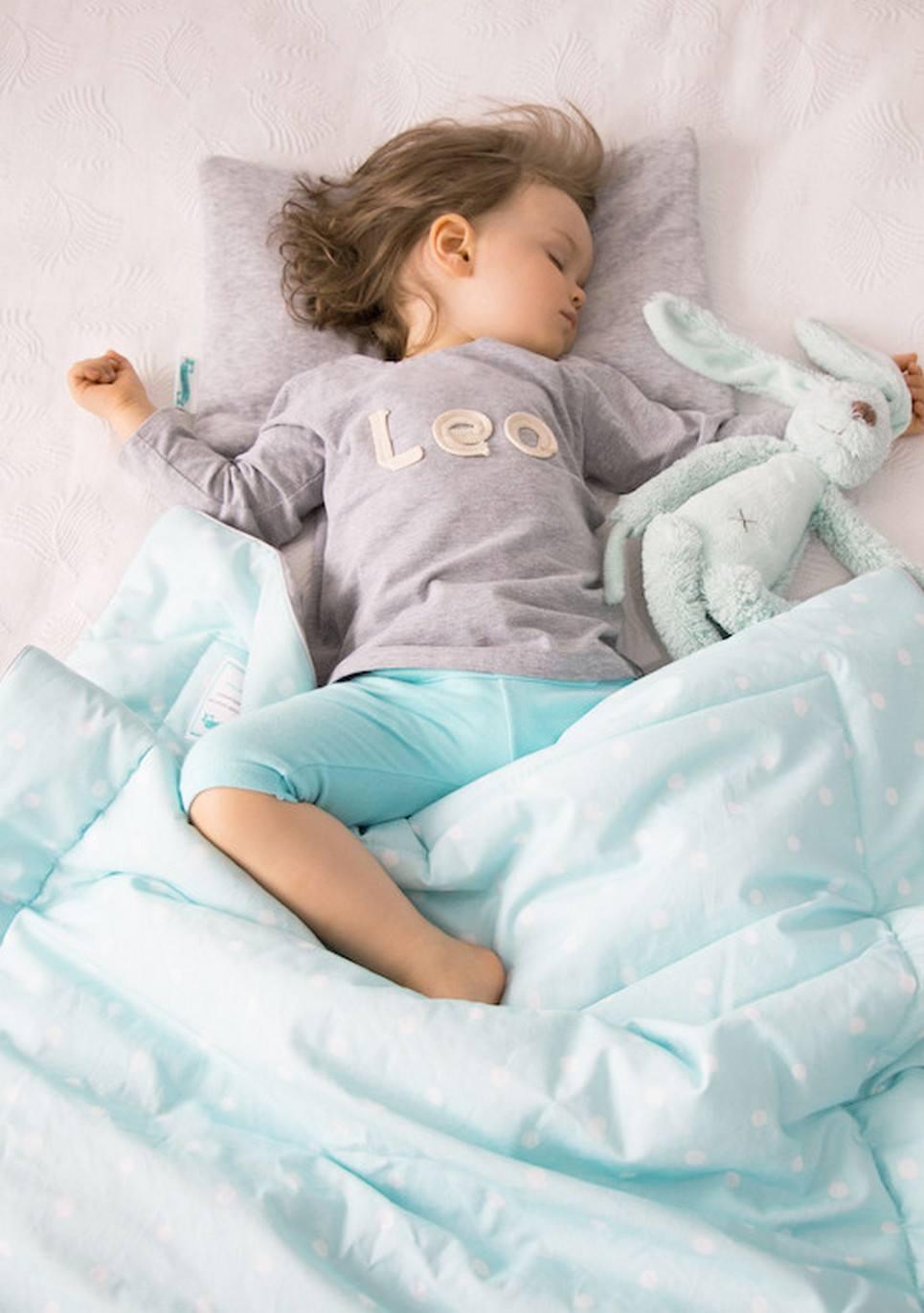 Cotton Velour Blanket Lovely Dots Mint – 1