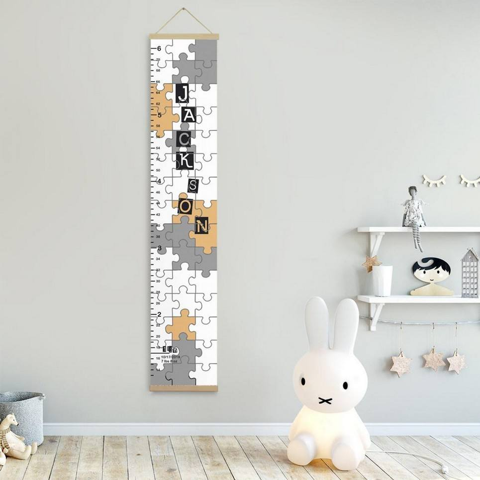 Personalised Puzzle Child Growth Chart