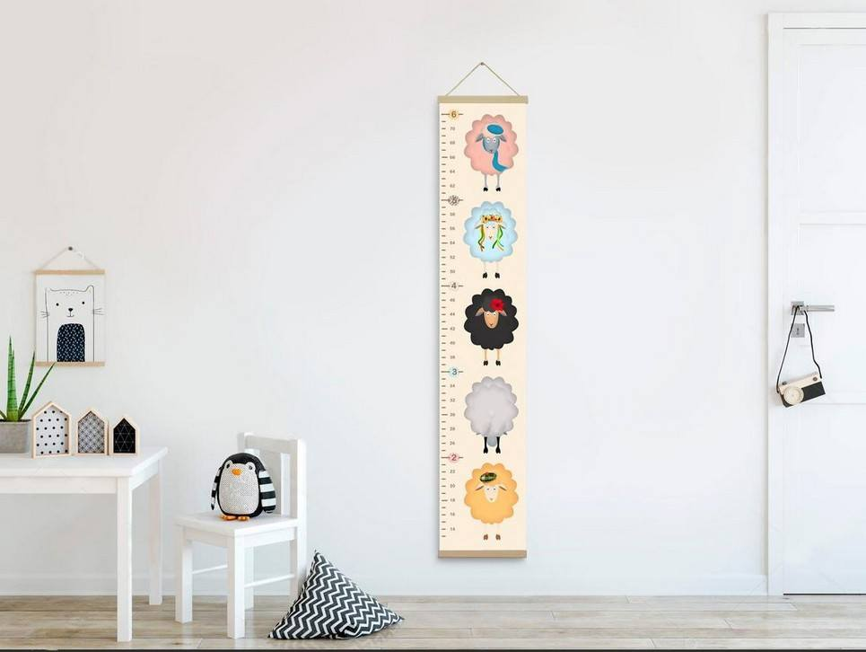 Personalised Sheeps Child Growth Chart