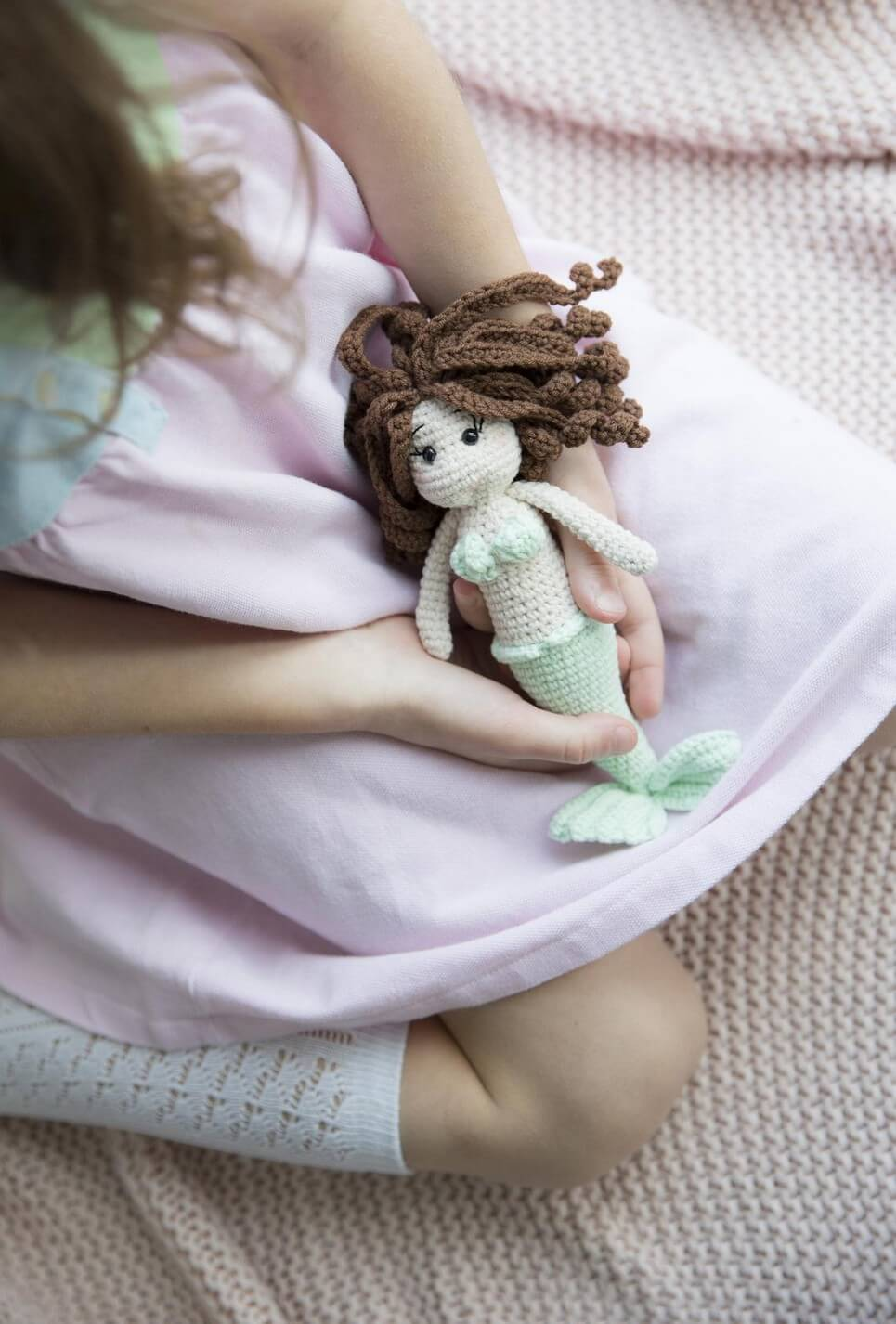 Little Mermaid Curly Hair Doll