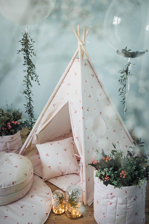 Misty Rose Children's Teepee Set