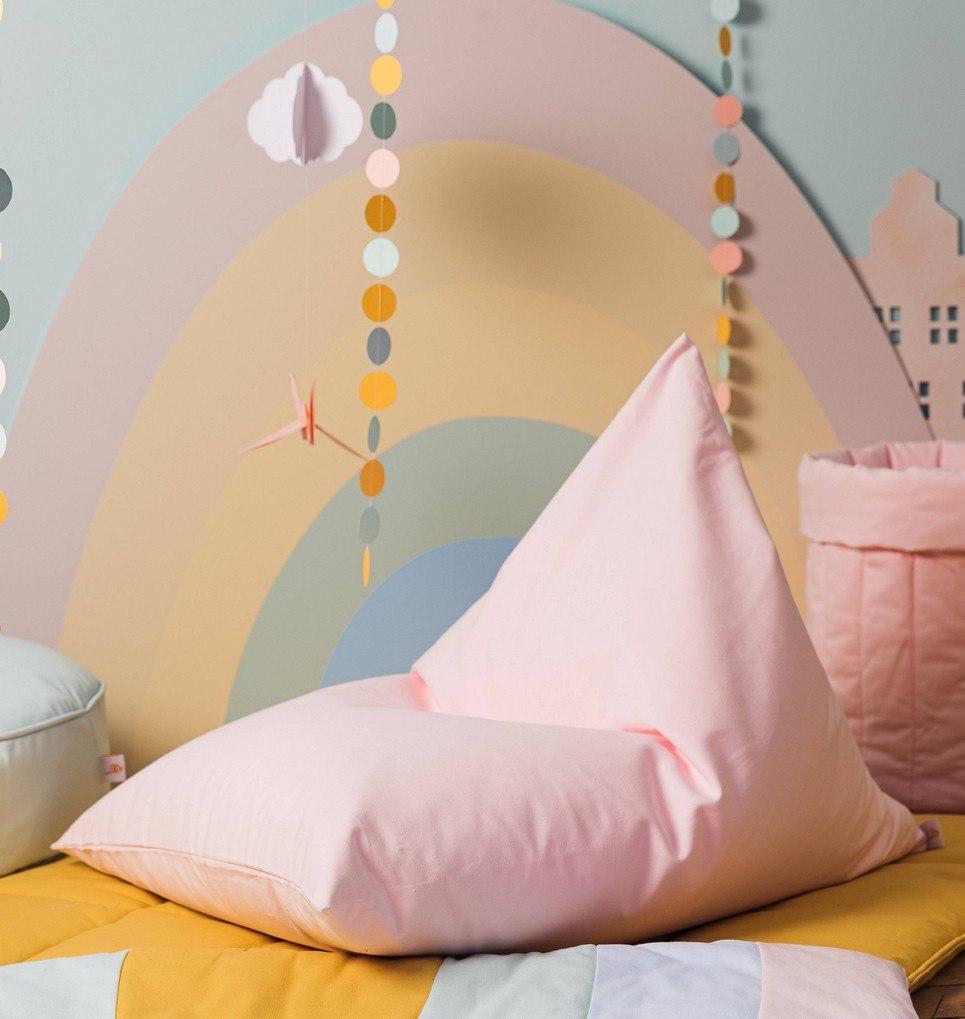 Plain Pink Classy Children's Bean Bag