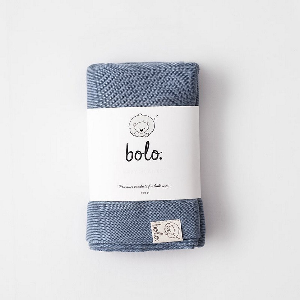 Blue Light Baby Bamboo Blanket