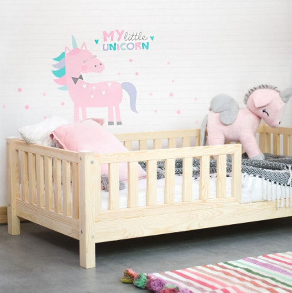 Children Bed with Barriers