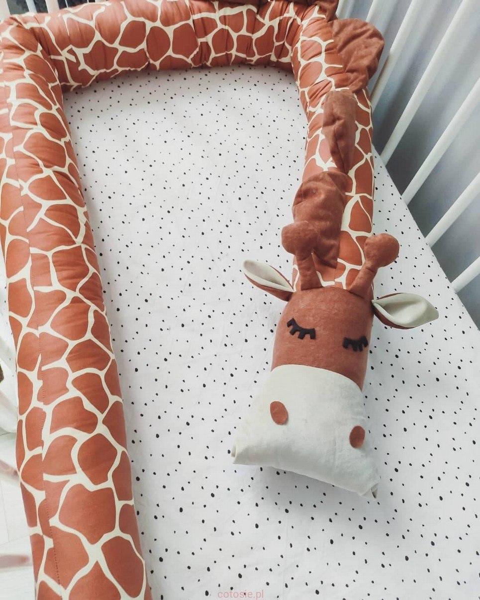 Giraffe Cot Bumper