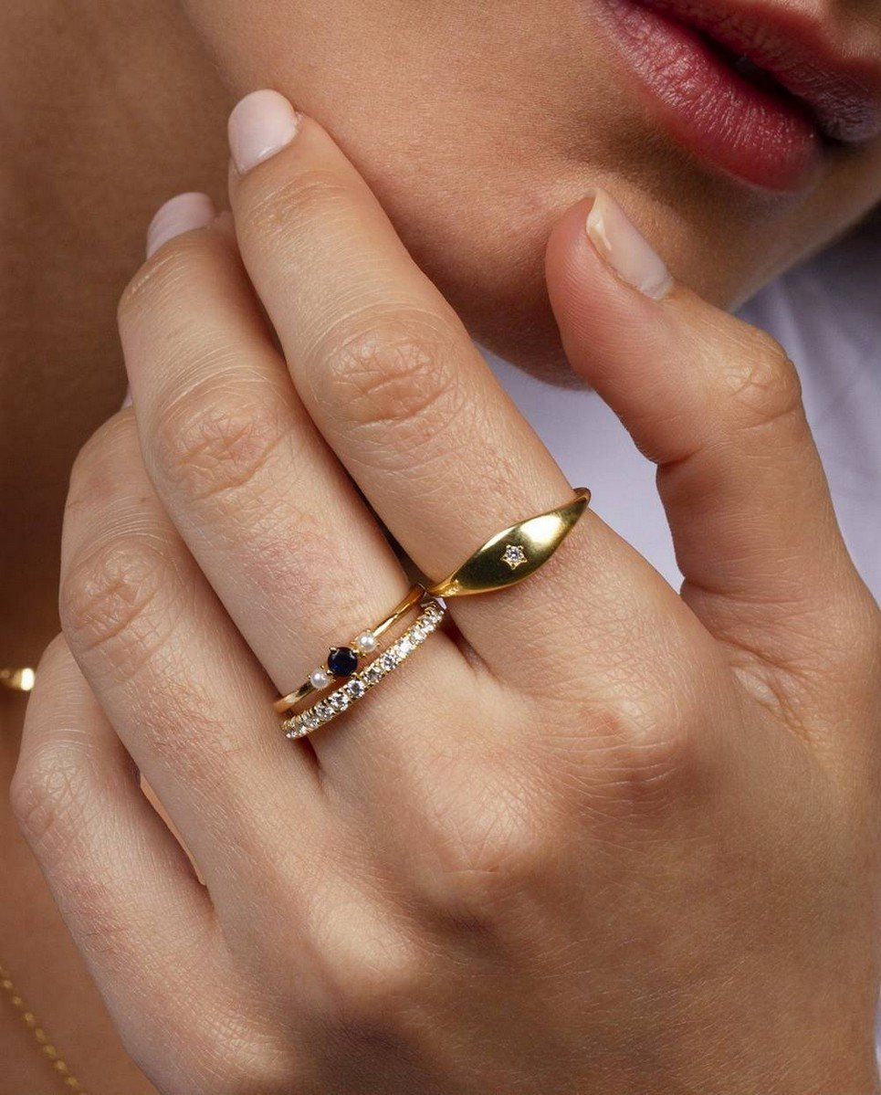 Loyal Signet Gold Ring