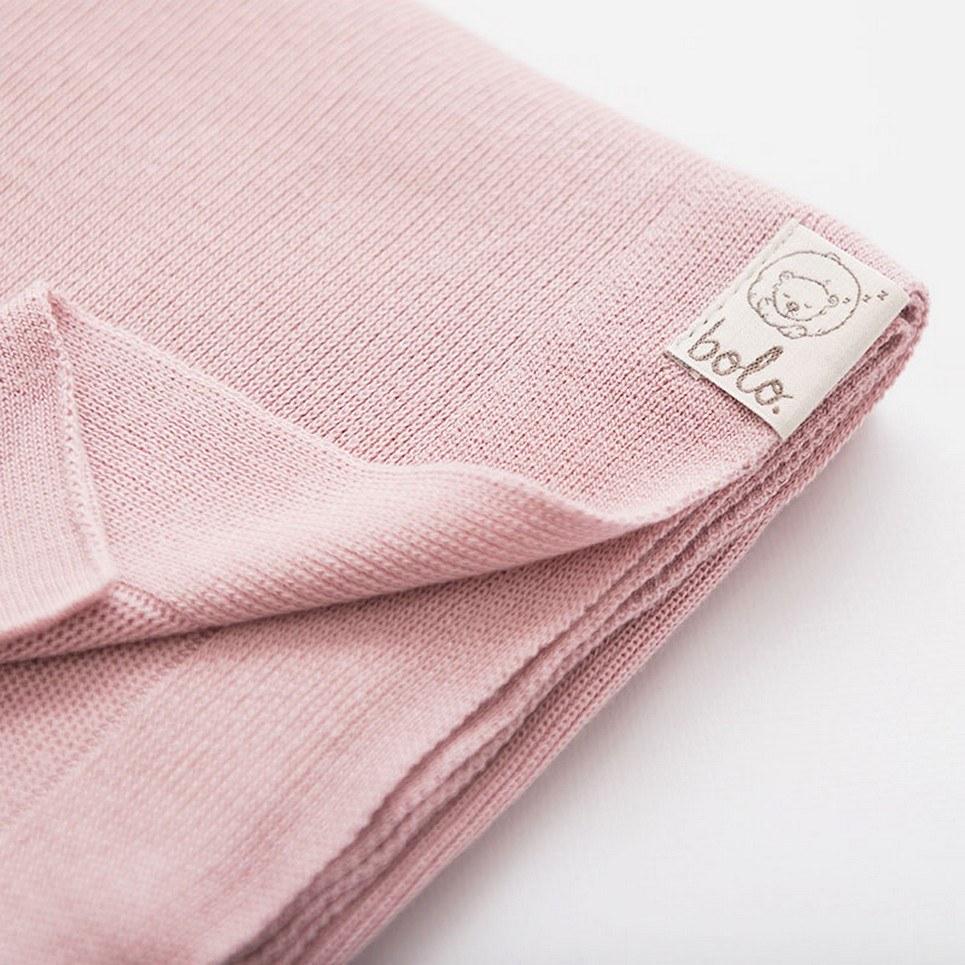 Pink Light Baby Bamboo Blanket
