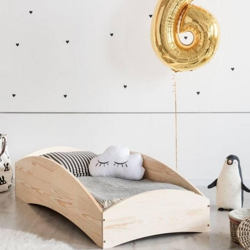Scandinavian Wooden Bed – 3