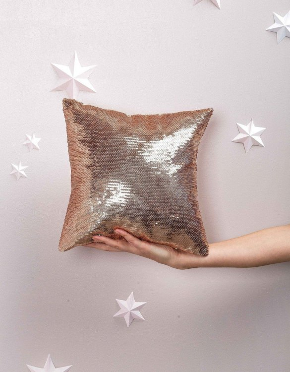 Completely handmade, the Sequins Square Decorative Pillow is the perfect gift to welcome the new addition. It's the perfect accessory for your sofa or armchair and with a choice of on-trend colours, you're bound to find a shade to suit your home.
