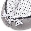 With a stylish design, the Black Dotty Baby Nest Cocoon ensures that your baby sleeps in a cosy and soft environment, which is the best idea when a crib is still very big within the first few months.
