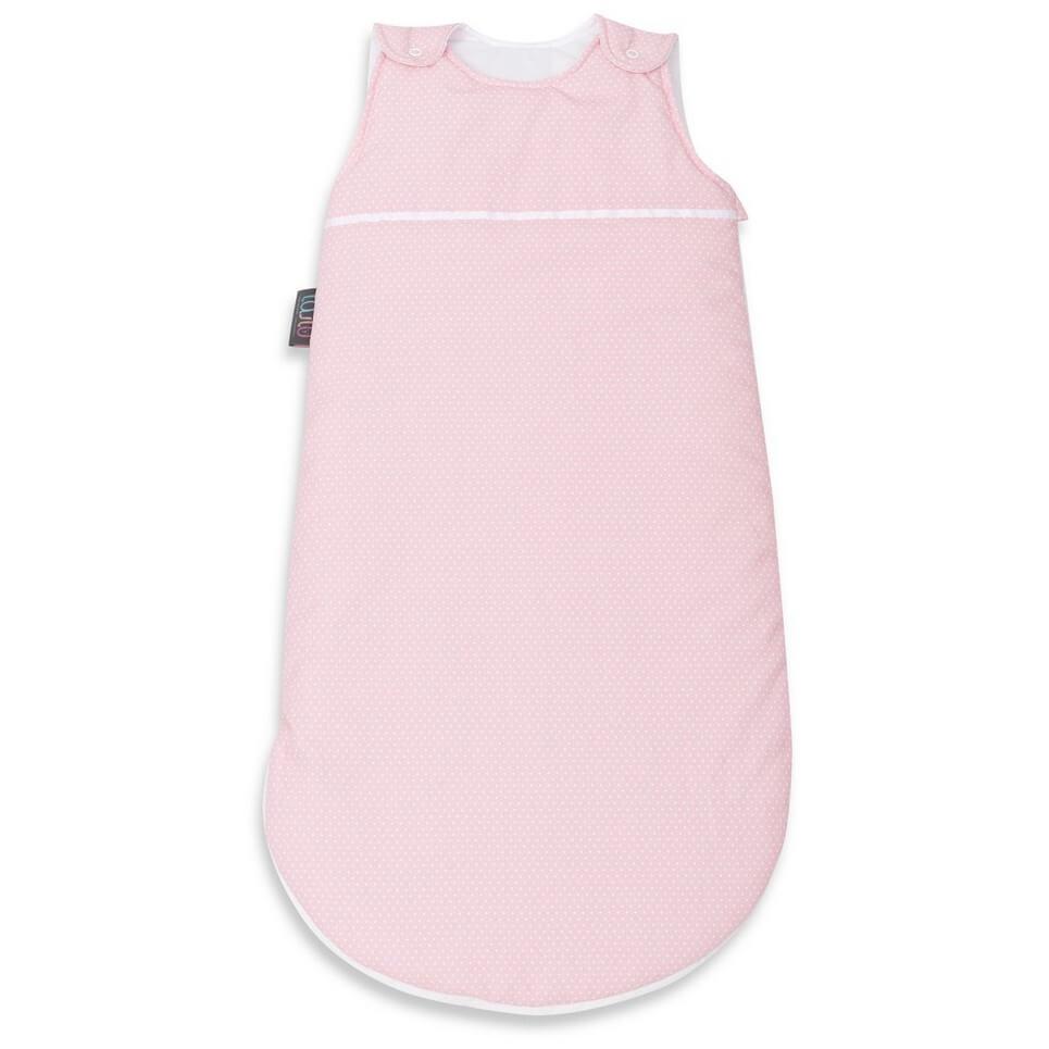 Coral Dotty Baby Sleeping Bag