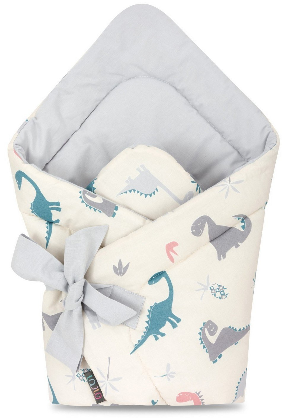 Crazy Dino Swaddle Blanket