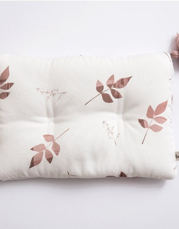 Perfect to suit your nursery theme, the Dirty Pink Leaves Bamboo Baby Pillow makes going to bed something special, an ideal way to conjure up sweet dreams. The perfect way to end the day this baby head pillow makes a great addition to any child's room and is a fun way to make sure that it feels special to them.