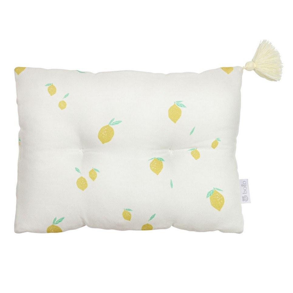 Lemons Bamboo Baby Pillow