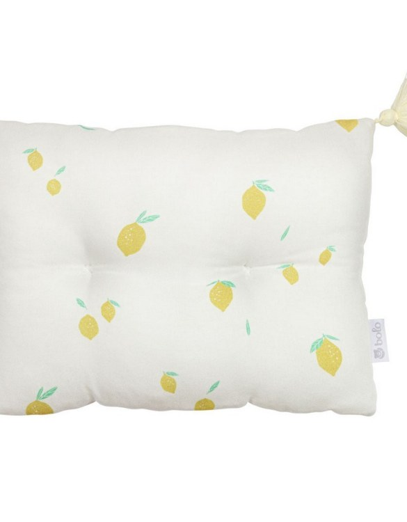 Perfect to suit your nursery theme, the Lemons Bamboo Baby Pillow makes going to bed something special, an ideal way to conjure up sweet dreams. The perfect way to end the day this baby head pillow makes a great addition to any child's room and is a fun way to make sure that it feels special to them.