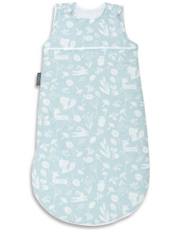Cosy and beautifully designed, the Mint Forest Baby Sleeping Bag is perfect for bedtime and naps whether at home, abroad or visiting friends. Sleeping bags are a fantastic idea for wriggly babies.