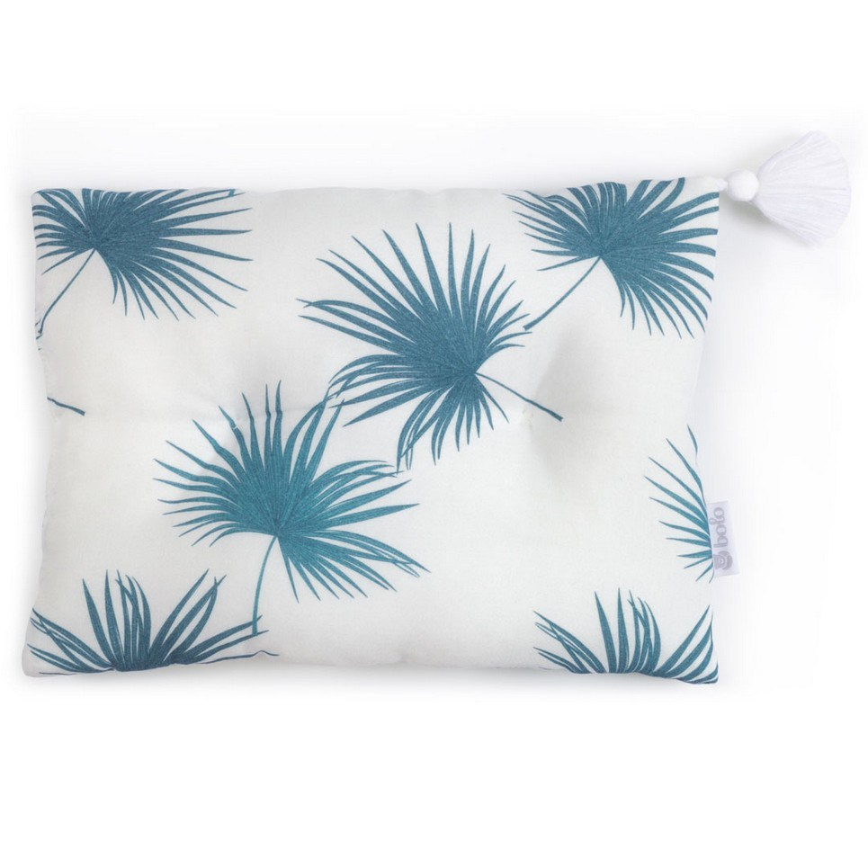 Sea Leaves Bamboo Baby Pillow