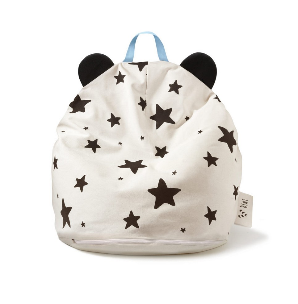 Bini with Stars and Blue Handle Kid's Beanbag