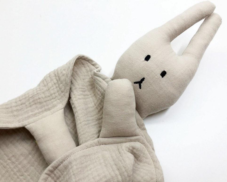 Peter Rabbits Beige Baby Comforter