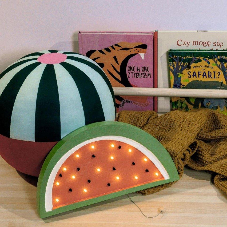Wooden Watermelon Lamp