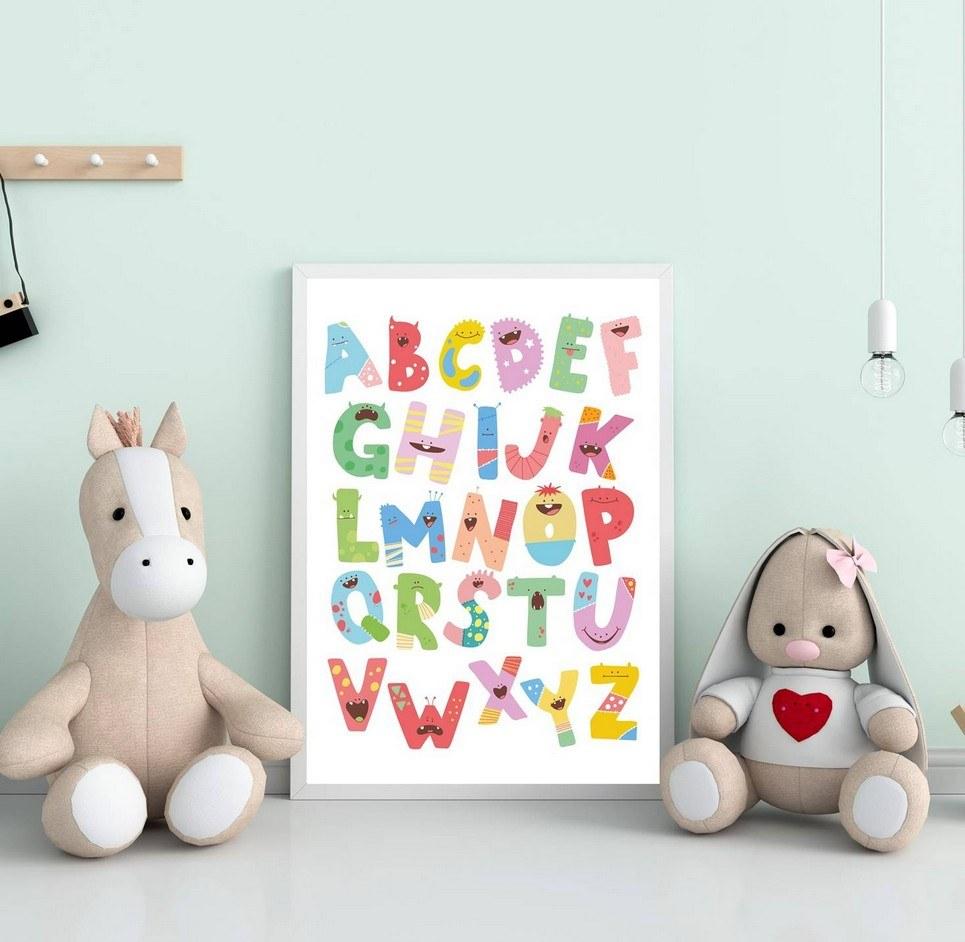 Alphabet Decorative Children Illustration