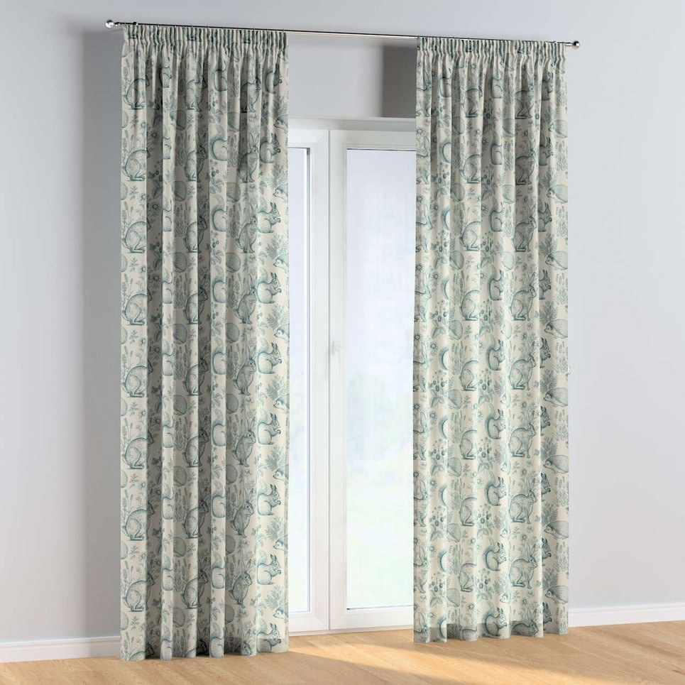 On The Meadow Pencil Pleat Kids Curtains