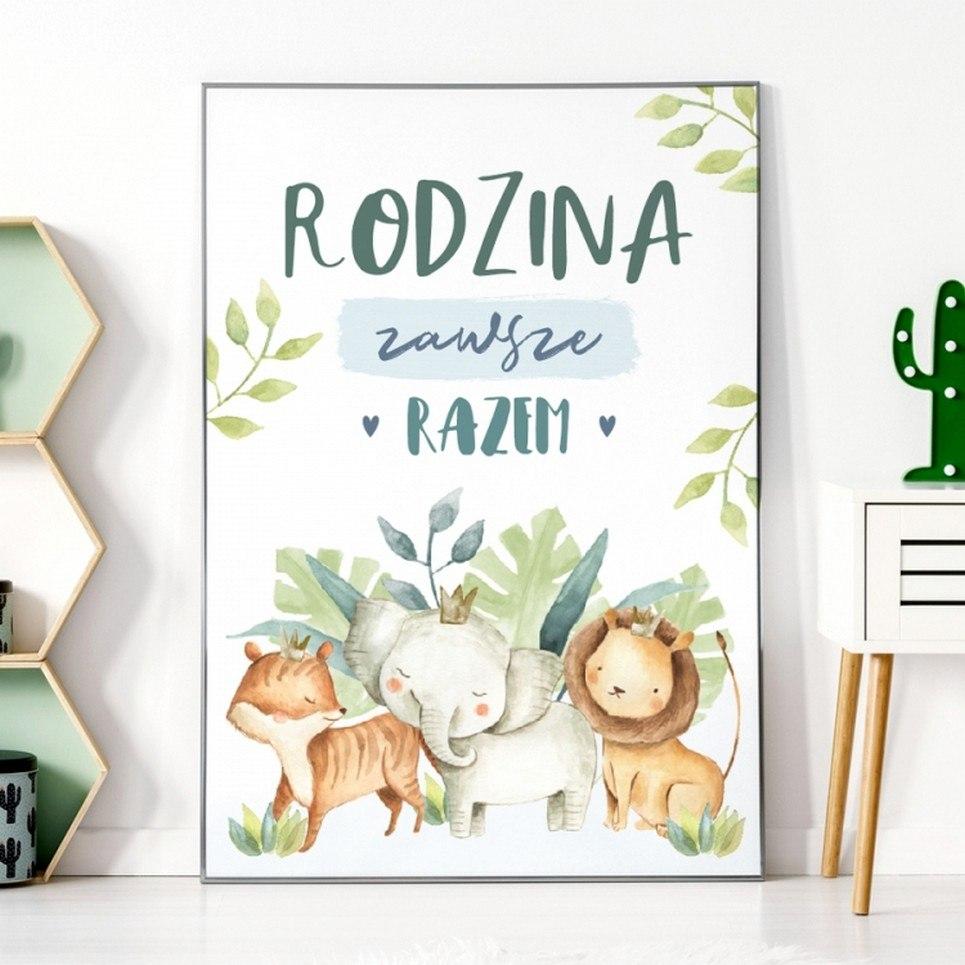 Always Family Children's Poster