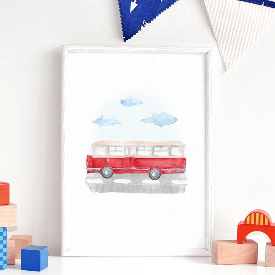 Autobus Children's Poster