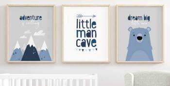A nursery should be tons of things. Adorable, for sure. Playful, definitely.