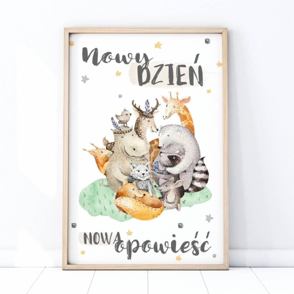 New Stories Children's Poster