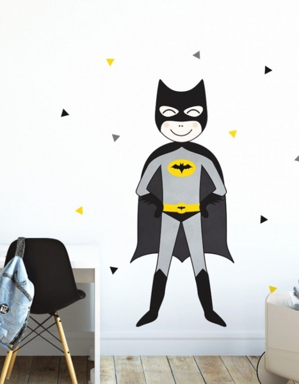 A beautiful scene for children's rooms and nurseries, the Super Hero Children's Wall Sticker is the perfect addition to any empty space (like walls or furniture). These wall stickers provide a flexible and cost-effective way to decorate your home.