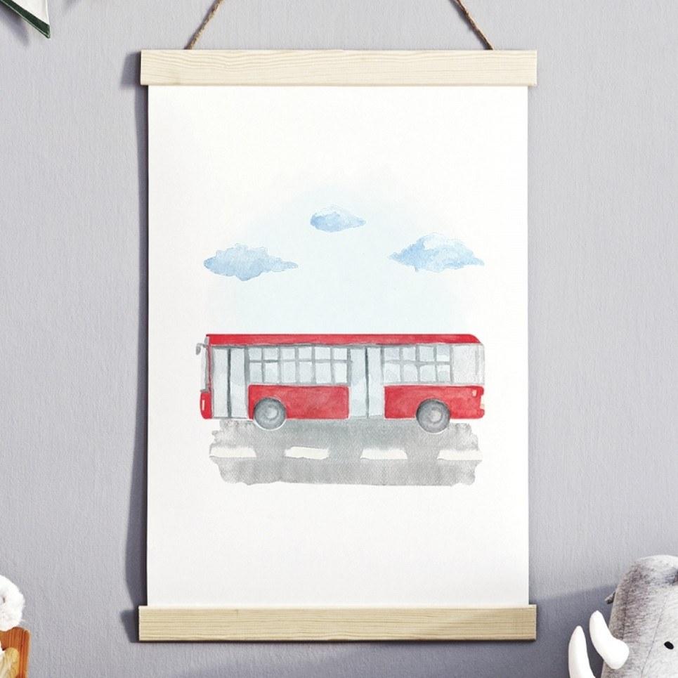 Unique Autobus Children's Poster