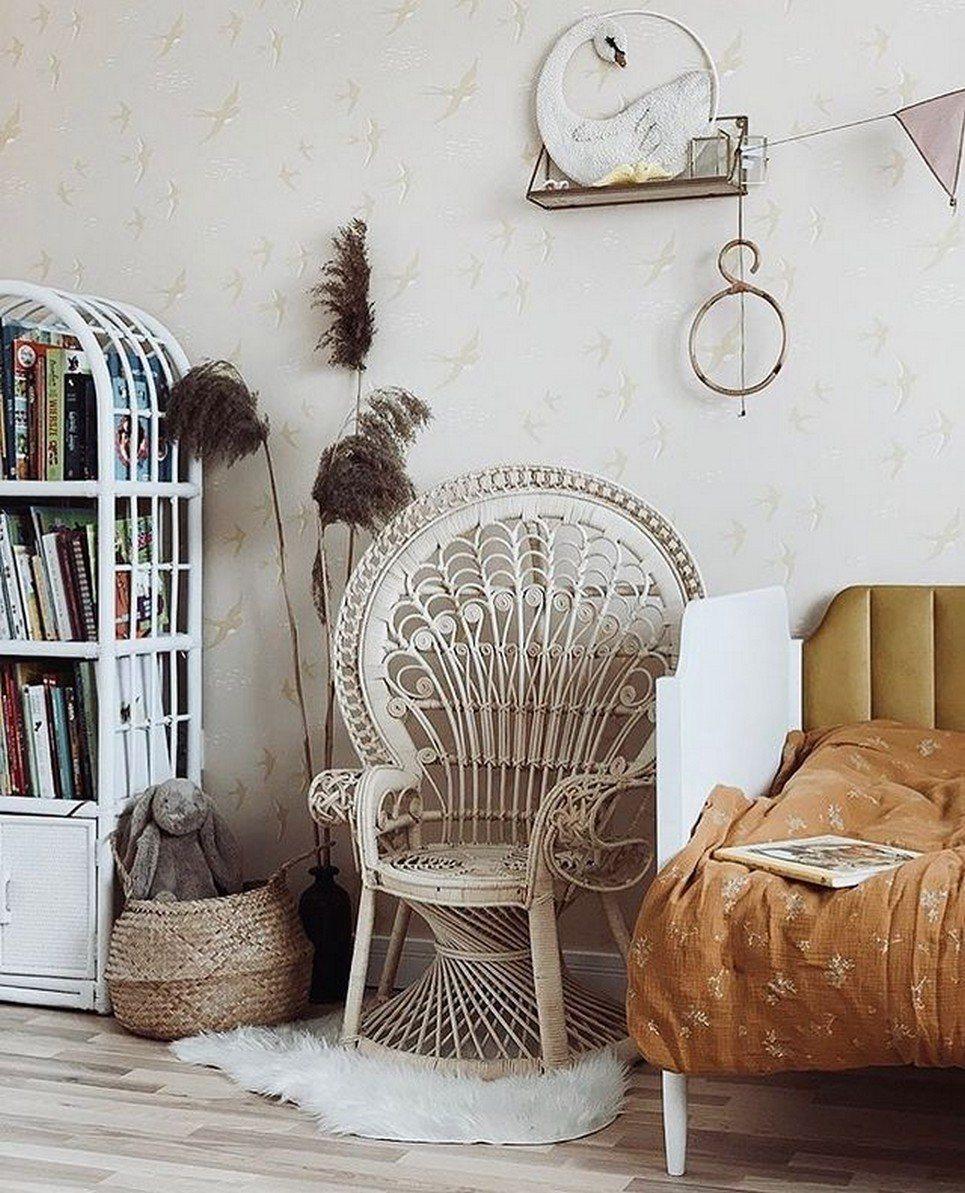 White Small Peacock Armchair – 3