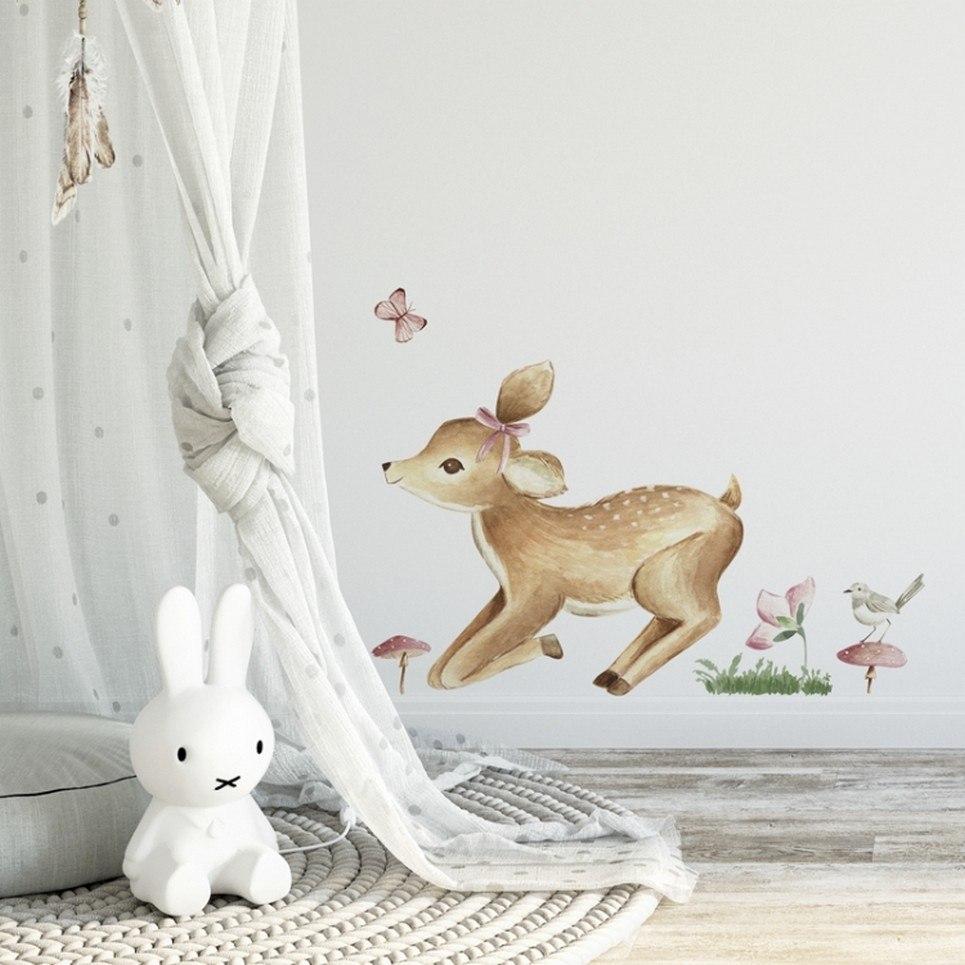 Baby Deer Children's Wall Sticker
